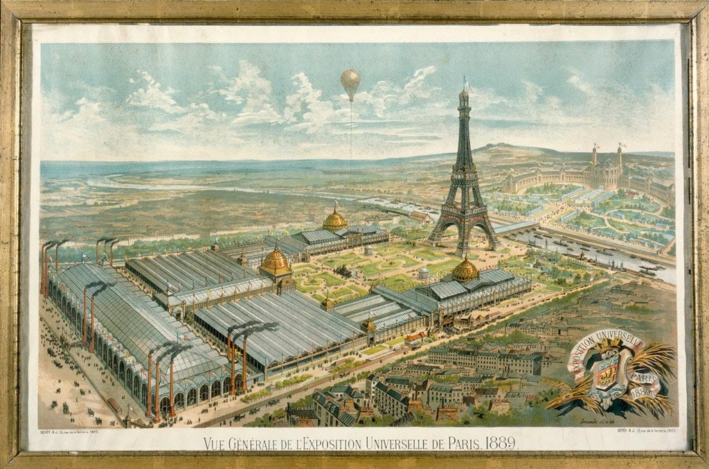 "One of the most famous landmarks in the world was, at the time of its construction for the 1889 Exposition Universelle, also the tallest building on earth, at 1,063 feet high. Before its opening, plans for the structure were met with scorn. Notable artists, including Guy de Maupassant and Paris Opera architect Charles Garnier even signed a letter in Le Temps that called it a ""dizzyingly ridiculous tower dominating Paris."" Still, Gustave Eiffel, an engineer by trade, persevered, and on the day of its opening he climbed the 1,710 stairs himself to unfurl the French flag at the summit."
