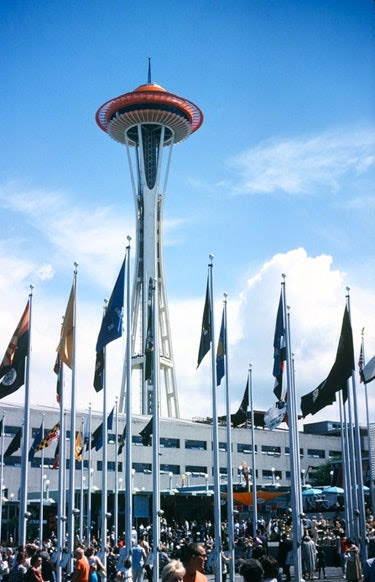 The blueprints for the 605-foot-tall Space Needle were so precisely planned that, when it opened, the rotating restaurant could revolve using only a one-horsepower motor. Since the 1962 World's Fair, the technology has been refined so that the SkyCity restaurant needs only a 1 ½-horsepower motor to turn in a circle. The tower also boasts an observation deck and events space, with shops down below.