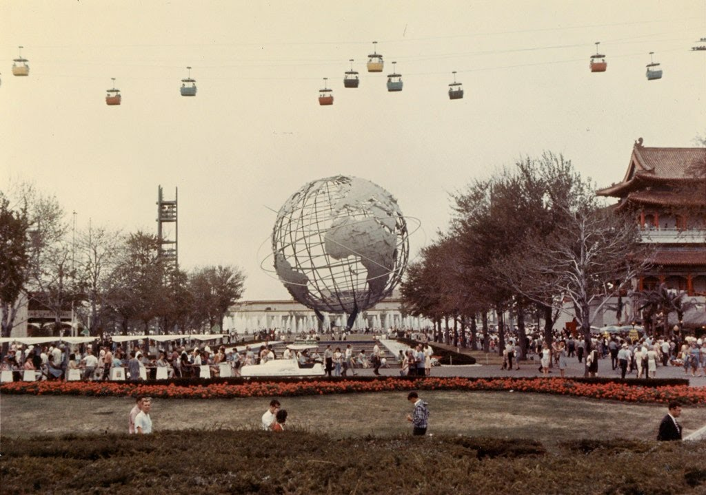 "Flushing Meadows–Corona Park in New York City has hosted two World's Fairs: one in 1939 and one in 1964. And those fairs boasted many impressive landmarks, including the 610-foot-tall Trylon spire and the ""UFOs"" of the New York State Pavilion. But the Unisphere is one of the most well-known—and longest-lasting. Designed by landscape architect Gilmore D. Clarke, the steel sphere was, at the time, the largest globe ever constructed, rising 140 feet and weighing 900,000 pounds (including its base). Today, it's still an icon of the city; try spotting it from your plane when landing at LaGuardia."